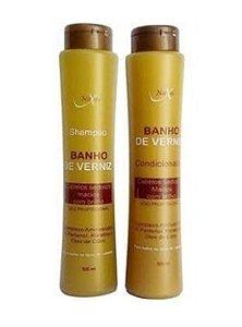 NAXOS Banho de Verniz Kit Shampoo + Condicionador 500ml