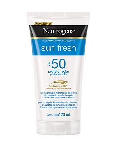 NEUTROGENA Sun Fresh Protetor Solar FPS 50 120ml