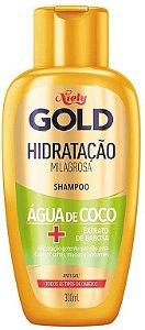 NIELY Gold Água de Coco Shampoo Hidratação Milagrosa 300ml