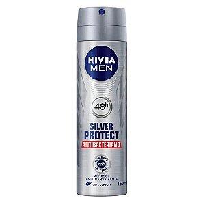 NIVEA Men Desodorante Aerosol Silver Protect 150ml
