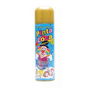 PINTA LOCA Spray para Tintura Decorativa do Cabelo Ouro 150ml