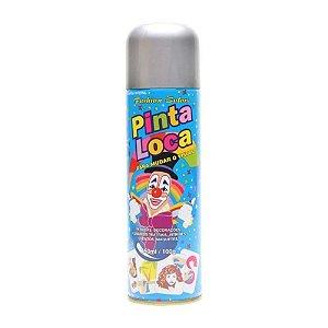 PINTA LOCA Spray para Tintura Decorativa do Cabelo Prata 150ml