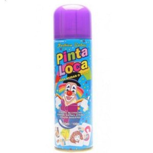 PINTA LOCA Spray para Tintura Decorativa do Cabelo Roxo 150ml