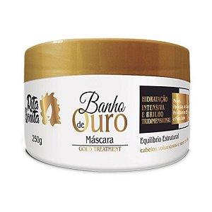 RITA BONITA Banho de Ouro Máscara Capilar Gold Treatment 250g