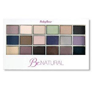 RUBY ROSE Paleta de Sombras Be Natural HB-9930