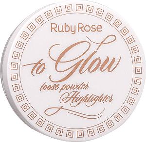 RUBY ROSE Pó Iluminador To Glow HB-7227 cor 4 Precious