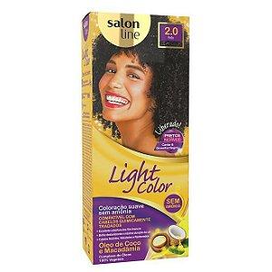 SALON LINE Light Color Tonalizante 2.0 Preto