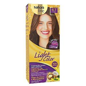 SALON LINE Light Color Tonalizante 6.7 Chocolate