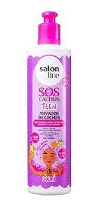 SALON LINE SOS Cachos Teen Ativador de Cachos Vegano 300ml