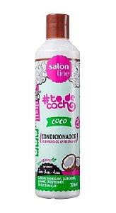 SALON LINE #ToDeCacho Coco Condicionador Vegano 300ml