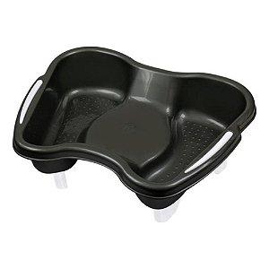 SANTA CLARA Bacia para Pedicure Plástica SEM Pedestal Ref.694 Preta (9633)