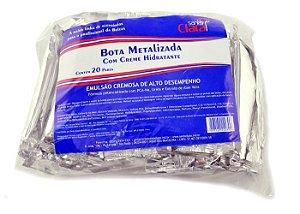 SANTA CLARA Bota Metalizada com Creme Hidratante 20Pares (2030)