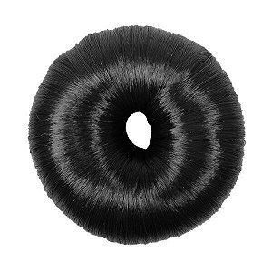 SANTA CLARA Donuts para Penteado Luxo Médio Preto Importado (3243)