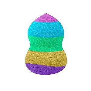 SANTA CLARA Esponja para Maquiagem Beautyful Blend 360° Colorida (4779)