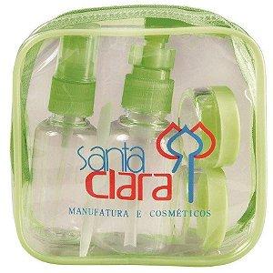 SANTA CLARA Kit para Viagem de Plástico 5 Peças Importado (1404)
