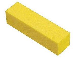 SANTA CLARA Lixa Cubo para Acabamento de Unhas Amarela (1267)