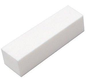 SANTA CLARA Lixa Cubo para Acabamento de Unhas Branca (469)