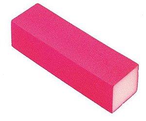SANTA CLARA Lixa Cubo para Acabamento de Unhas Rosa (1027)