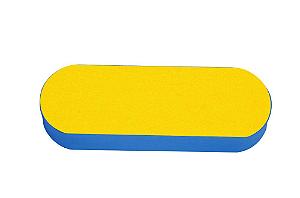 SANTA CLARA Lixa para Pés 25mm lixa Preta/Amarela E.V.A. (2347)