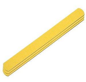 SANTA CLARA Lixa para Unhas Canário Amarela Big Especial 3un (386)