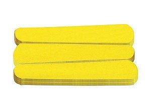 SANTA CLARA Lixa para Unhas Canario Amarela Mini 20un (454)