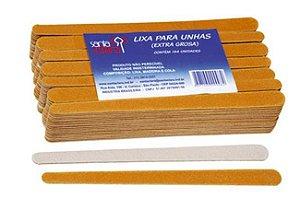 SANTA CLARA Lixa para Unhas Popular 144un (100)
