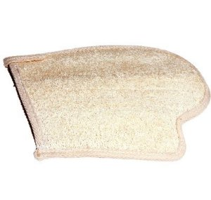 SANTA CLARA Luva para Banho Esfoliante Natural Importada (1102)