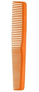 SANTA CLARA Pente Profissional Comare Color Wind 180° (suporta 180°C) Pequeno Laranja (4955)