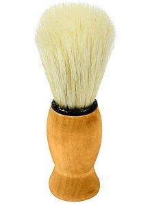 SANTA CLARA Pincel para Barbear com Pelo Natural em Madeira importado (1243)