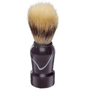 SANTA CLARA Pincel para Barbear com Pelo Natural Preto (671)