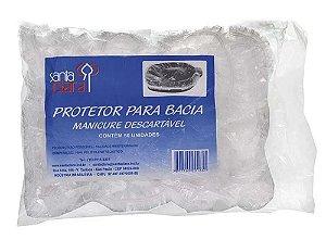 SANTA CLARA Protetor para Bacia de Manicure Descartável 50un (165)