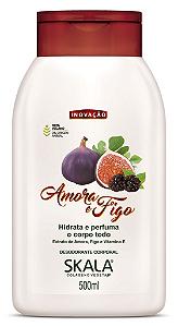 SKALA Desodorante Corporal Hidratante Vegano de Amora e Figo 500ml