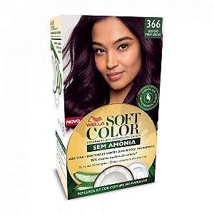 SOFT COLOR Coloração Permanente 366 Bordô Profundo