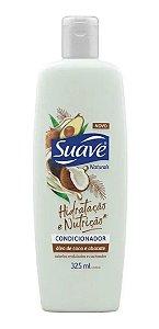 SUAVE Hidratação e Nutrição Condicionador Oléo de Coco e Abacate 325ml