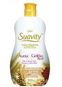 SUAVITY Loção Hidratante Corporal com Aveia & Geleia Real 500ml