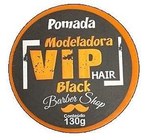 VIP HAIR Pomada Modeladora Barber Shop Black 130g