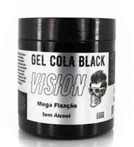 VISION Gel Cola Mega Fixação Black 240g