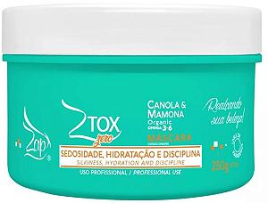 ZAP Máscara Capilar Condicionante ZTox Organic Omega 3-6 Canola & Mamona 250g
