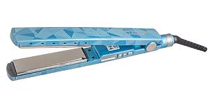 """BABYLISS Pro Prancha Nano Titanium Vetro Azul 1+1/4"""" 230°C"""
