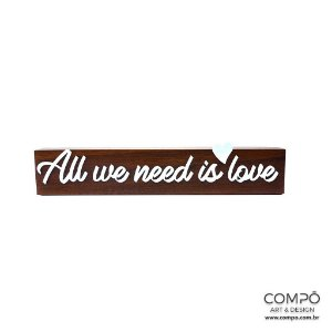 Frases - All we need is love