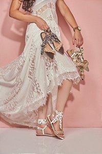 Sandália Rasteira De Moda Feminina Velleza 109