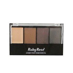 Paleta de Sombras para Sobrancelhas - Ruby Rose