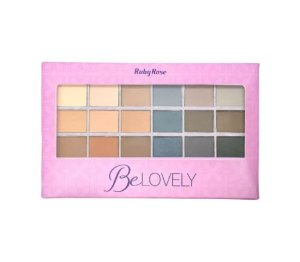 Paleta De Sombras Be Lovely - Ruby Rose