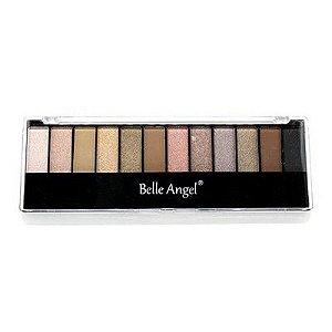 Paleta de Sombras Matte B012-2 - Belle Angel
