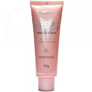 Creme Revitalizante Ice Rose Pescoço e Colo – Ruby Rose
