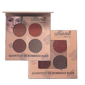 Quarteto de Sombras Nude 04 - Ludurana