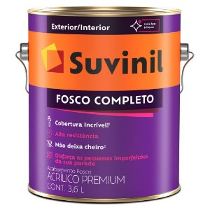Suvinil Acrílico Fosco Premium 3,6 Litros