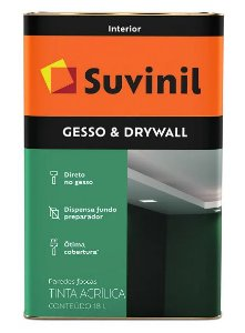 Suvinil Direto Sobre Gesso Drywall 18 Litros