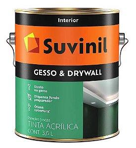 Suvinil Direto Sobre Gesso Drywall 3,6 Litros