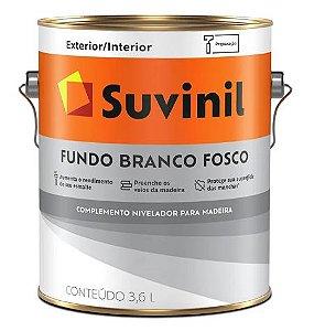 Suvinil Fundo Branco Fosco 3,6 Litros